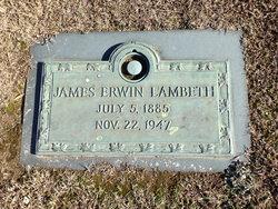 James Erwin Lambeth, Sr