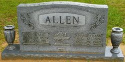 Annie Mae <i>Price</i> Allen