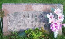Leon Eugene Gene Allen