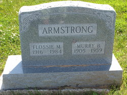 Flossie Marie <i>Newbrough</i> Armstrong