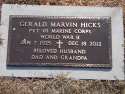 Gerald Marvin Hicks