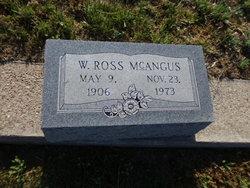 William Ross McAngus
