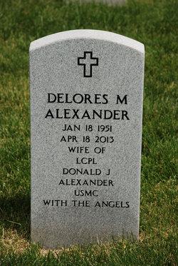 Delores Marie <i>Bowers</i> Alexander