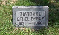 Ethel <i>Byrne</i> Davidson