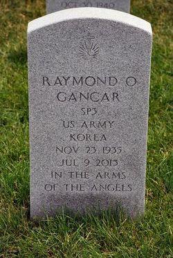 Raymond O Gancar