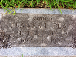 Francis L <i>Greenwood</i> Blair