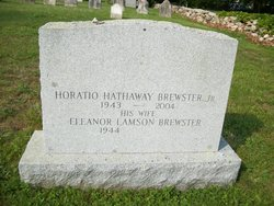 Horatio Hathaway Brewster, Jr
