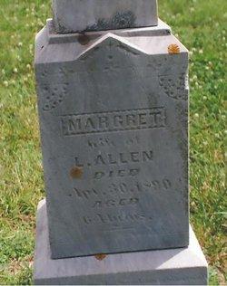Margaret <i>Napier</i> Allen