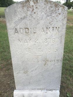 Addie <i>Agee</i> Akin