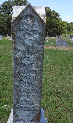 Sarah M. Sallie <i>Thombs</i> Stallings
