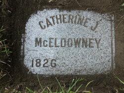 Catherine J <i>Kimes</i> McEldowney