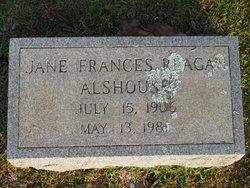 Jane Frances <i>Reagan</i> Alshouse