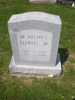 Dr Willard Stanley Clewell, Jr