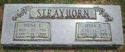 Rev Otha E Strayhorn