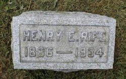 Henry Edgar Rife
