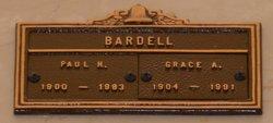 Grace Adalee <i>Hooser</i> Bardell