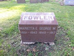 Marietta Emily <i>Crary</i> Fowler