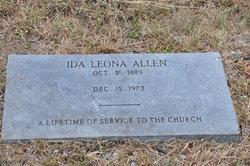Ida Leona <i>Bonham</i> Allen