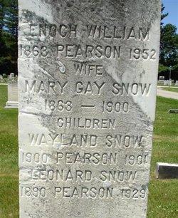 Mary Gay <i>Snow</i> Pearson