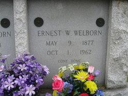 Ernest Walton Welborn, Sr