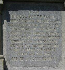Pvt Purnell Batts Barnett