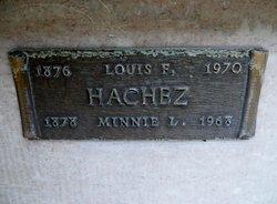 Louis F Hachez