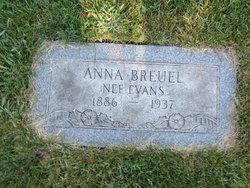 Anna <i>Evans</i> Breuel