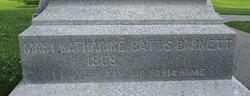 Mary Catherine <i>Batts</i> Barnett