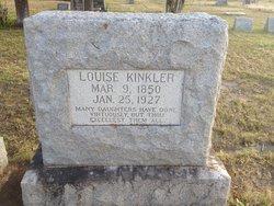 LOUISA <i>SCHNEIDER</i> KINKLER