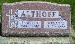 Jeanette Elaine <i>Erickson</i> Althoff