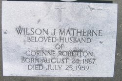 Wilson J Matherne