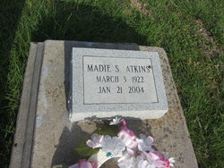Madie Lee <i>Sims</i> Atkins