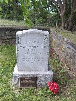 Marie <i>De La Warenbuer</i> Ferree