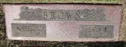 Mabel Lillian <i>Lloyd</i> Brown
