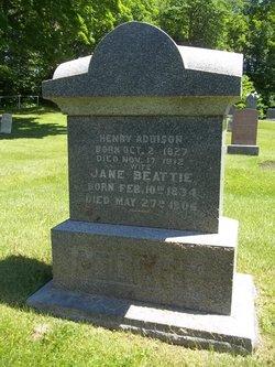 Jane <i>Beattie</i> Addison