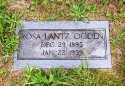 Rosa <i>Lantz</i> Armentrout Ogden