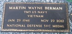 Martin Wayne Marty Berman