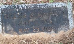 Dessie Alma Alma <i>Davis</i> Hays