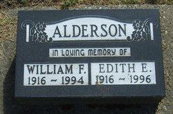 William F Alderson