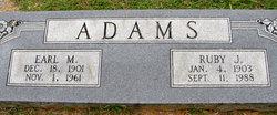 Earl Monroe Adams