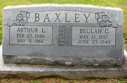 Beulah C. <i>Smith</i> Baxley