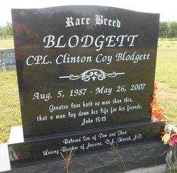 Spec Clinton Coy Blodgett