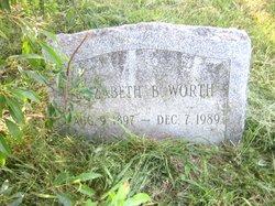 Elizabeth Bessie Worth