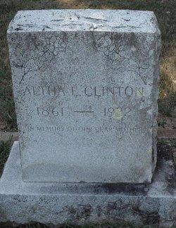 Altha E. Clinton
