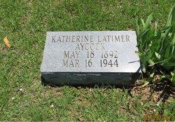 Katherine <i>Latimer</i> Aycock