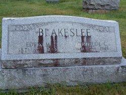 Gertrude E <i>Cole</i> Blakeslee