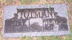 Almyra E. Myra <i>Adams</i> Totman