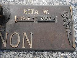 Rita W. <i>Kelleher</i> Cannon