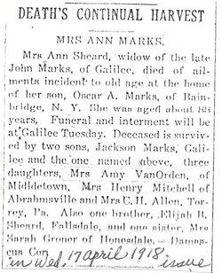 Ann <i>Sheard</i> Marks