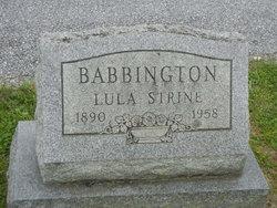 Lula Babbington